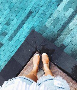 Green Pool Tiles
