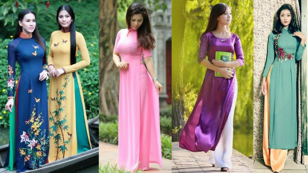 Learning to cut Ao Dai
